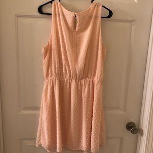 Elle Light Pink Short Cocktail Dress